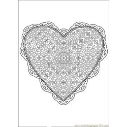 Valentine Day Coloring 20