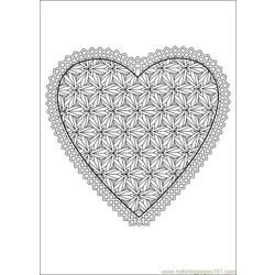 Valentine Day Coloring 52 Free Coloring Page for Kids