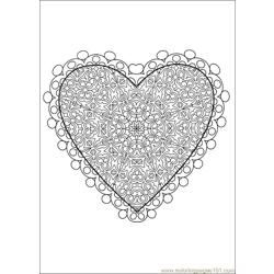 Valentine Day Coloring 53 Free Coloring Page for Kids