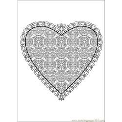 Valentine Day Coloring 54 Free Coloring Page for Kids