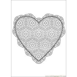 Valentine Day  Coloring 10