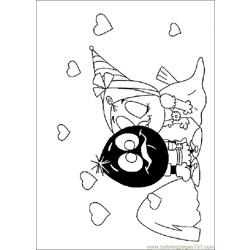 Valentines Daycoloring  03 Free Coloring Page for Kids