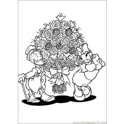 Valentines Day Coloring 05 Free Coloring Page for Kids