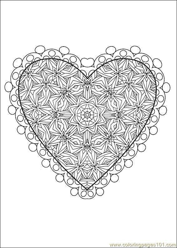 Valentine Day Coloring 18 Coloring Page Free Valentine S