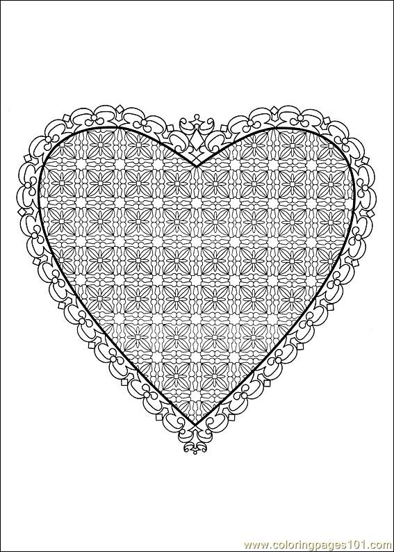 Valentine Day Coloring 19 Coloring Page Free Valentine S