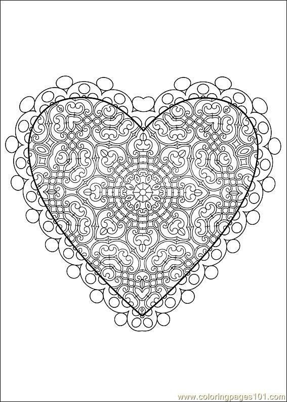 Valentine Day Coloring 23 Coloring Page  Free Valentines Day