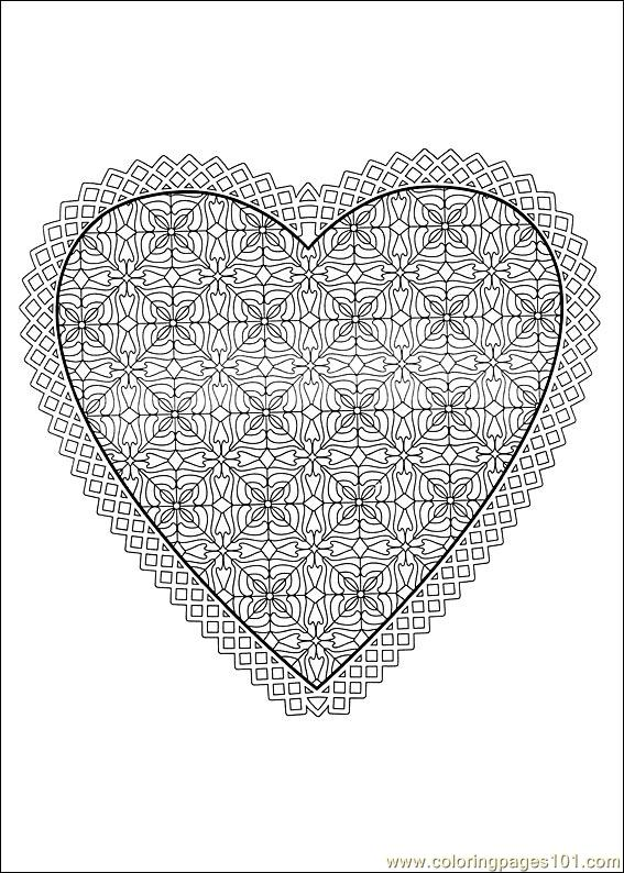 Valentine Day Coloring 37 Coloring Page