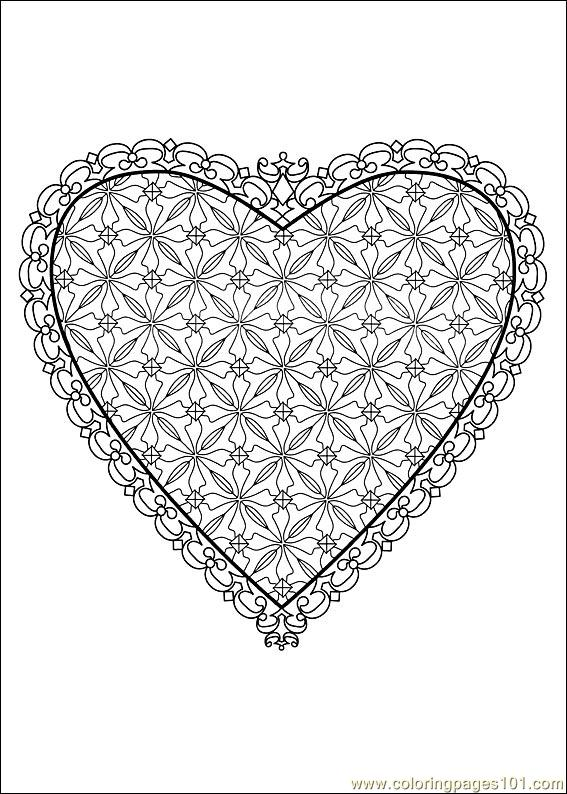 Valentine Day Coloring 49 Coloring Page