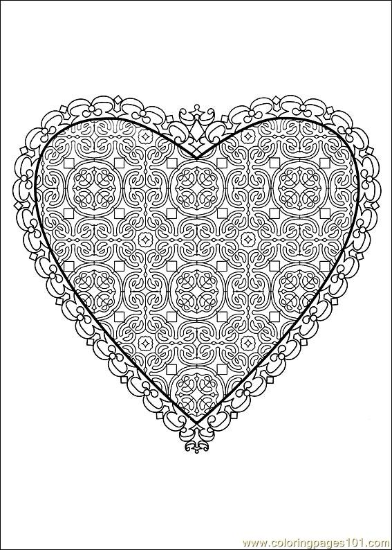 Valentine Day Coloring 54
