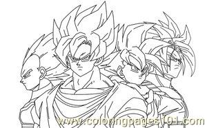 vegetagohan trunks by imran ryo coloring page - Dbz Coloring Pages