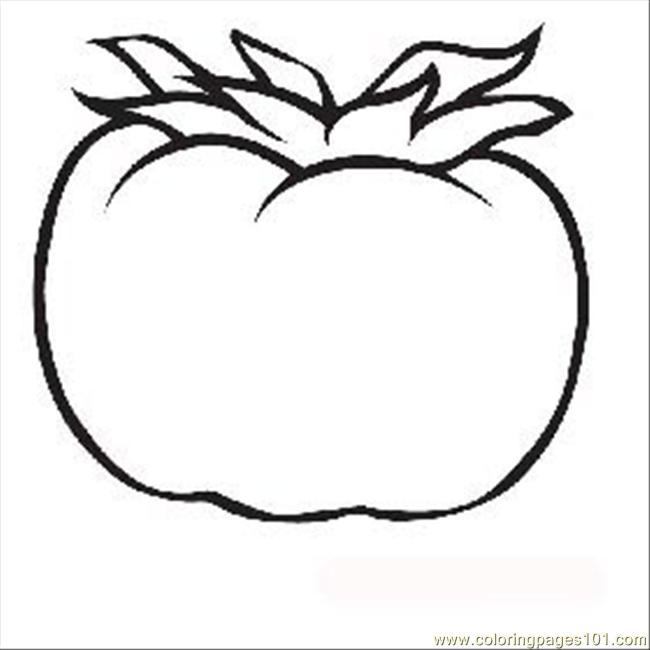 S Tomato6 Coloring Page