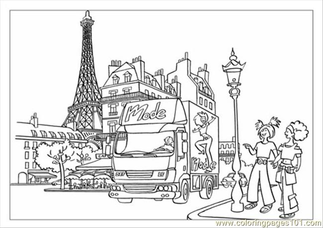 Daf Color Book Lf Coloring Page
