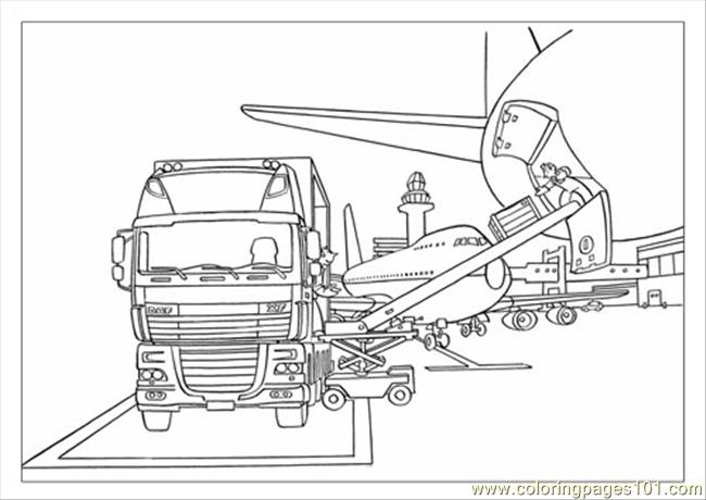 Daf Color Book Xf Coloring Page