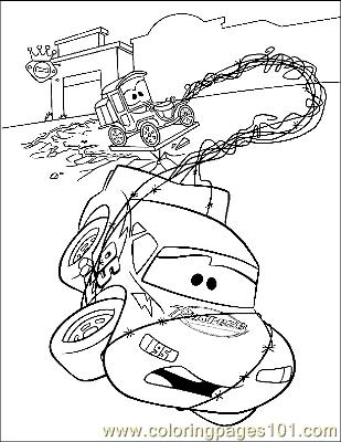 Cars 12 coloring page free printable coloring pages - Coloriage mac queen ...