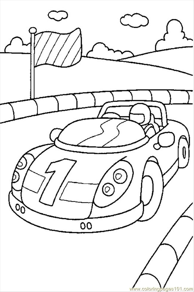 Cars1 Coloring Page