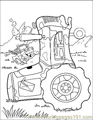 Cars 25 Coloring Page