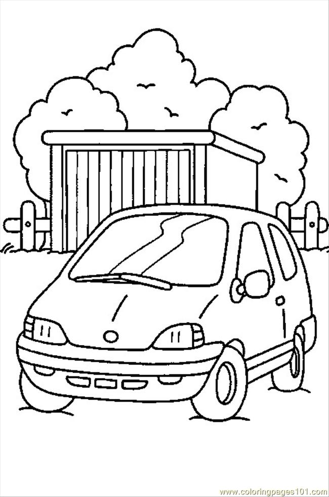 Cars5 Coloring Page