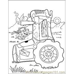 Cars 25 Free Coloring Page for Kids