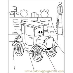Cars 3 Free Coloring Page for Kids