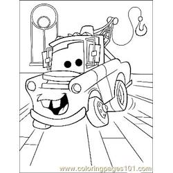 Cars 4 Free Coloring Page for Kids