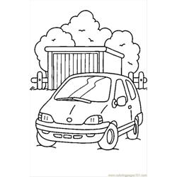 Cars5 Free Coloring Page for Kids