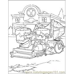 Cars 7 Free Coloring Page for Kids