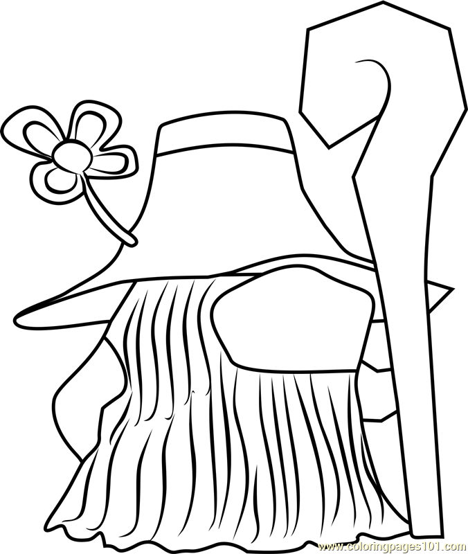 Farley Animal Crossing Coloring Page