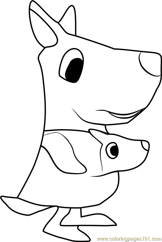 Koharu Animal Crossing Coloring