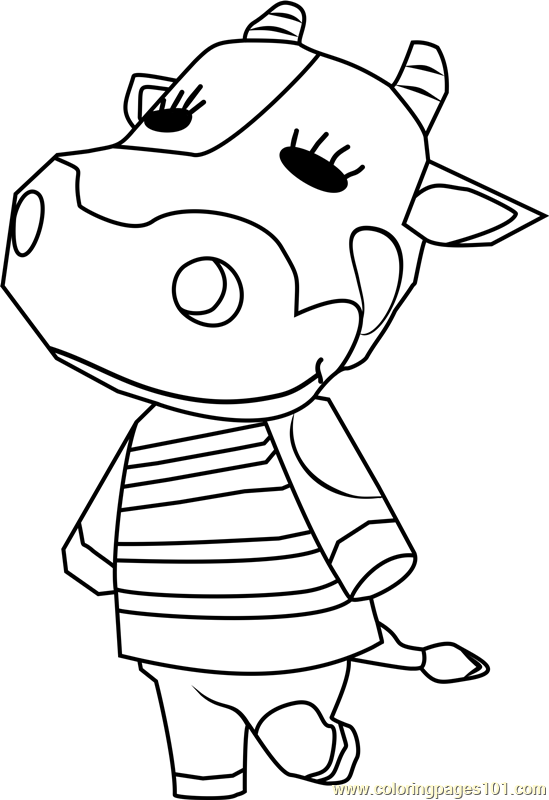 Tipper Animal Crossing Coloring