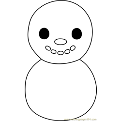 Baby Snowman Animal Crossing