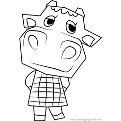 Bessie Animal Crossing