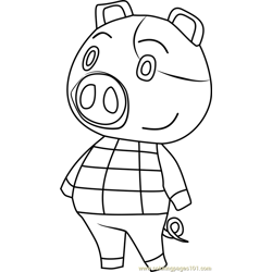 Hugh Animal Crossing