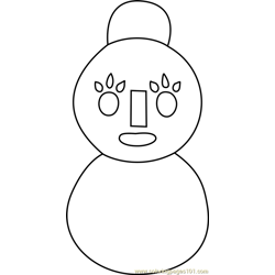 Mama Snowman Animal Crossing