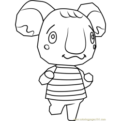 Melba Animal Crossing