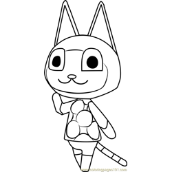 Mitzi Animal Crossing