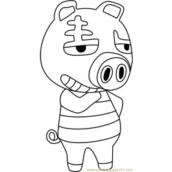 Rasher Animal Crossing