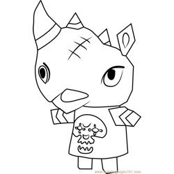 Spike Animal Crossing