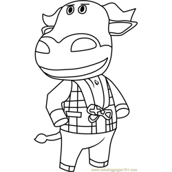 T-Bone Animal Crossing