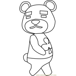 Teddy Animal Crossing