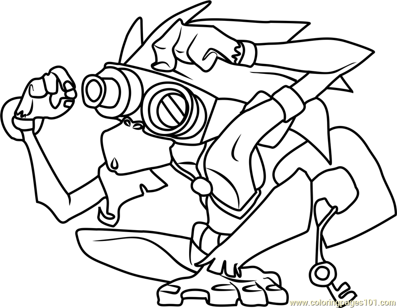 Graham Animal Jam Coloring Page Free Animal Jam Coloring