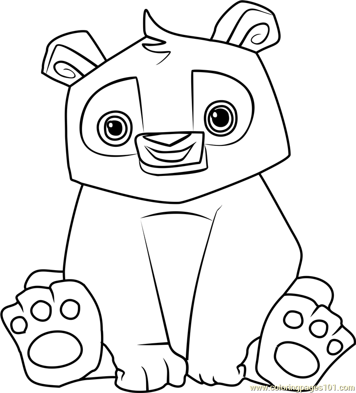 printable coloring pages animal jam - photo#45