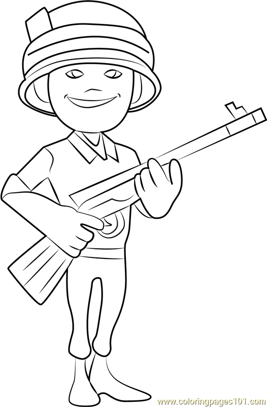 Rifleman Coloring Page
