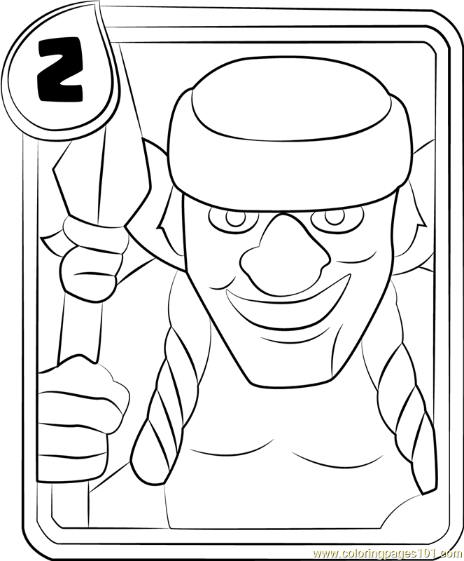 81904 Spear Goblins Coloring Page on Cartoon Jam