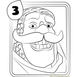 Knight Free Coloring Page for Kids