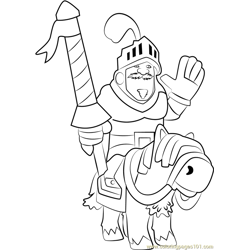 Prince Free Coloring Page for Kids