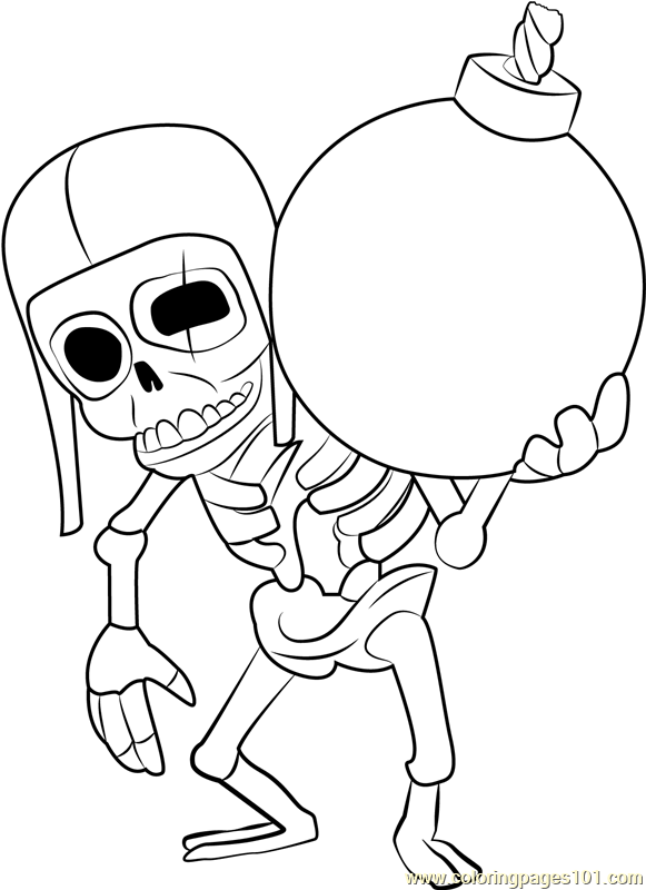 Wall Breaker Coloring Page Free