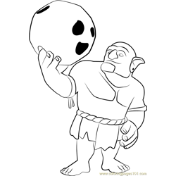 Bowler Free Coloring Page for Kids