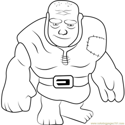 Giant Free Coloring Page for Kids