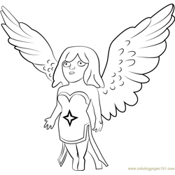 Healer Free Coloring Page for Kids