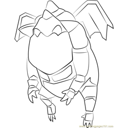 Lava Hound Free Coloring Page for Kids